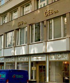El Banco de Exportación Checo, foto: Google Street View