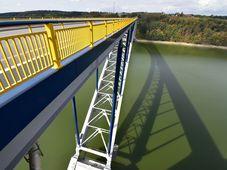 Žďákovský – el puente de un arco más grande de Chequia, foto: Ondřej Tomšů