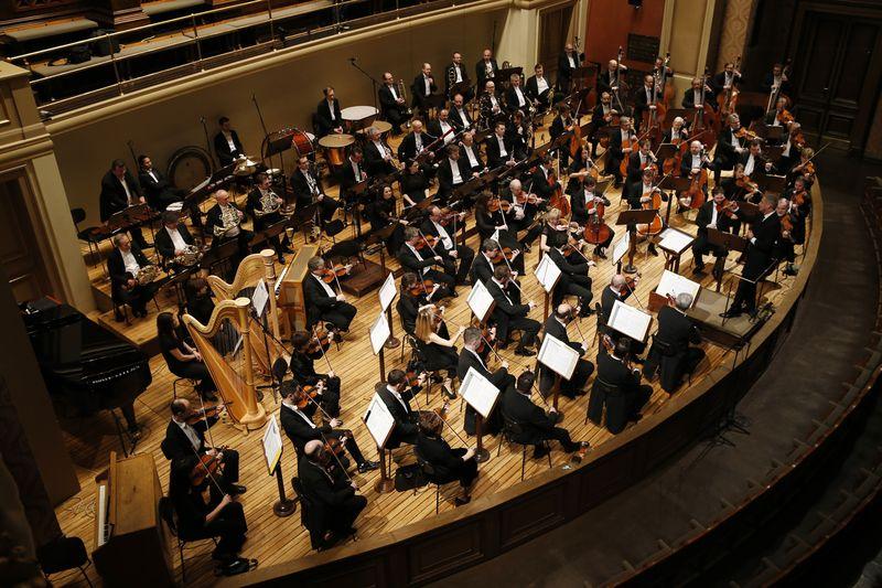 La Orquesta Sinfónica de la Radio Checa (SOČR), foto: archivo de SOČR