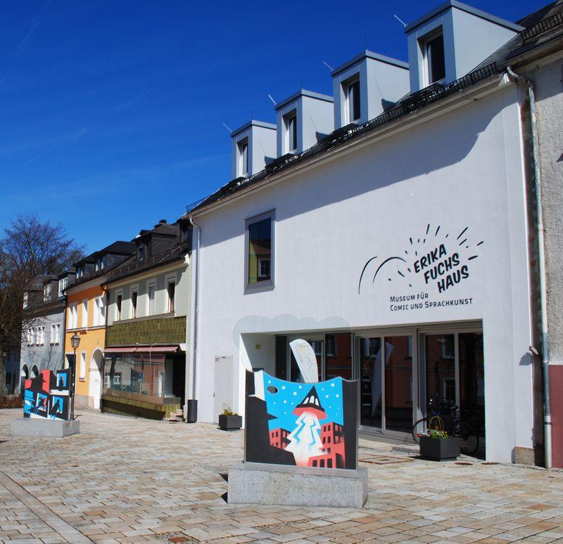 Erika-Fuchs-Haus (Foto: Michael Stumpf, Archiv des Erika-Fuchs-Hauses)