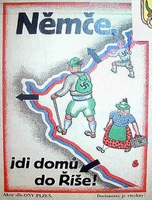 """""""Deutscher, geh heim ins Reich!"""""""