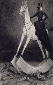 La Dame au cheval, 1900-01