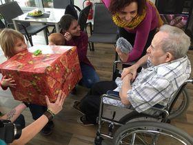 Im Seniorenheim in Kaplice (Foto: Michaela Jarošová, Archiv des Tschechischen Rundfunks)