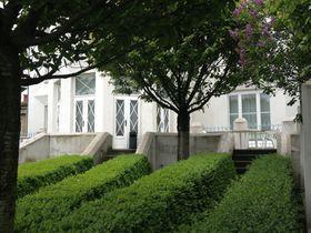 Кубистический сад виллы (Фото: Олег Фетисов)