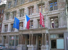 Bohemian National Hall in New York, photo: archive of Radio Prague