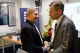 Karel Pacák receives Most Respected Czech Abroad prize, photo: Andrea Filičková