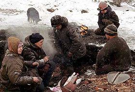 Z filmu Michaela Glawoggera Dělníkova smrt, foto: Autor