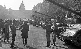 Soviet invasion in 1968