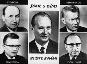 ¿Dónde están Dubček, Smrkovský, Černík...?