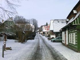 Zvědavá or 'Curious' Street, photo: Jiří Erben, CC BY-SA 3.0 Unported