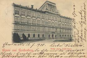 Школа в Судетах (г. Либерец) на рубеже XIX–ХХ веков, фото: открытый источник