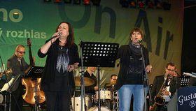 Martha aTena Elefteriadu na koncertě vBrně (2014), foto: archiv ČRo