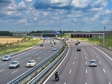 Autobahn in Deutschland (Foto: Rl91, Wikimedia Commons, CC BY-SA 3.0)