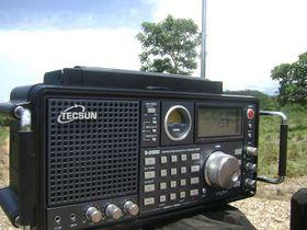 Radio Tecsun, foto: Daniel Wyllyans