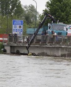 Hochwasser in Břeclav (Foto: ČTK)