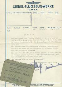 Protektorátní doklady Milady Hrbkové, foto: Archiv Jany Preislerové