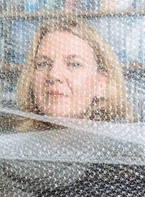 Directora artística del festival, Eva Rybková. Foto: archivo del festival de cine documental 'Un Mundo'