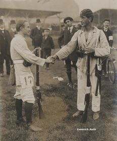 Emmerich Rath (rechts). Foto: Archiv des Emerich-Rath-Museums der Wintersporte