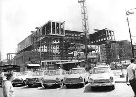 Строительство здания Федерального собрания (Фото: Национальная галерея)