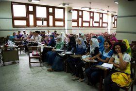Студенты богемистики в Каире, Фото: Штепан Махачек, Чешское Радио