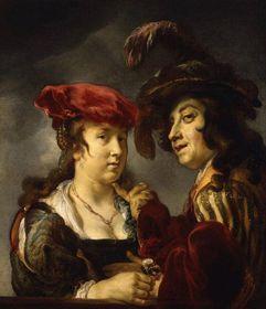 Ян Ван Ноордт: «Молодая пара»