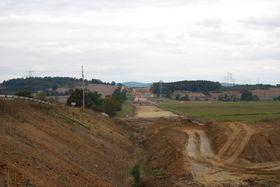 Stavba dálnice D4, foto: Chmee2, CC BY-SA 3.0