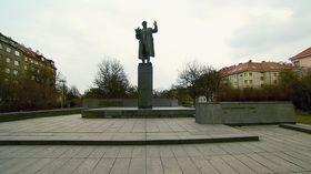 Памятник маршалу Коневу в Праге 6, фото: ЧТ