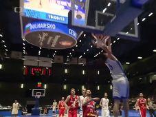 L'équipe de République tchèque de basket-ball a battu la Bulgarie (81-75), photo: ČT