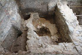 Фундамент храма Х века, фото: archiv Národního památkového ústavu
