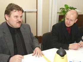 Zdenek Skromach y Bohuslav Sobotka, foto: CTK