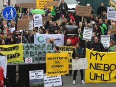 Демонстрация в Усти-на-Эльбе (Фото: ЧТК)