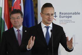 Péter Szijjártó, photo: ČTK/Ondřej Deml