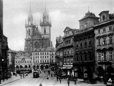 Prague autour 1914