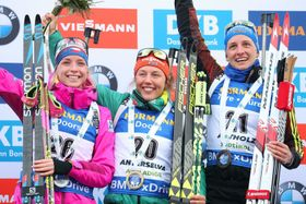 Маркета Давидова, Лаура Дальмайер, Ванесса Гинз, Фото: Andrea Solero/ANSA via AP