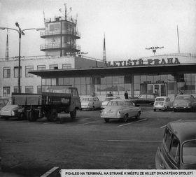 Prager Flughafen in den 1960er Jahren (Foto: Archiv des Václav-Havel-Flughafens in Prag)