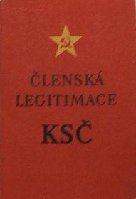 Parteibuch der KPTsch