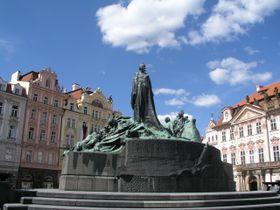 Monument of Jan Hus