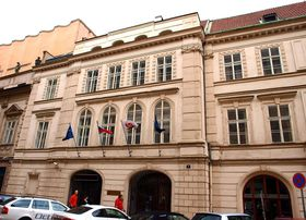 Здание ЧСДП на Гибернской улице, где находился музей Ленина, Фото: VitVit CC BY-SA 3.0, Открытый источник