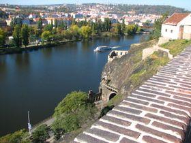 View from Vyšehrad, photo: Štěpánka Budková