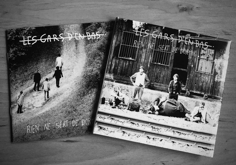 Le troisième album des Gars d'en bas, 'Rien ne sert de dormir', photo: Camille Montagnon