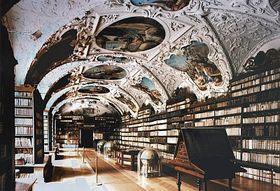 La salle de philosophie au monastère de Strahov, photo: CzechTourism