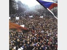 November 1989 in Prag