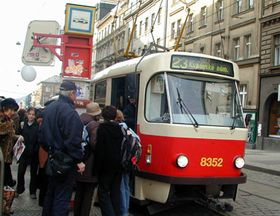 Prague city transport