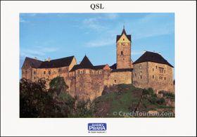 Tarjeta QSL 2011, Castillo de Loket