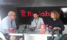 Ondřej Provazník et Martin Dušek (à droite), photo: Alexis Rosenzweig