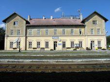 Бывшее здание вокзала Кршимов, Фото: Милан Сыкора