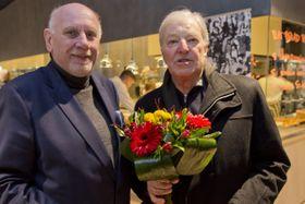 Jan Kodeš  (a la derecha), foto: ČTK