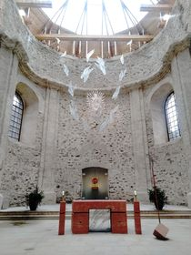 El altar de la iglesia, foto: Dominika Bernáthová