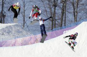 Snowboardcross, photo: CTK