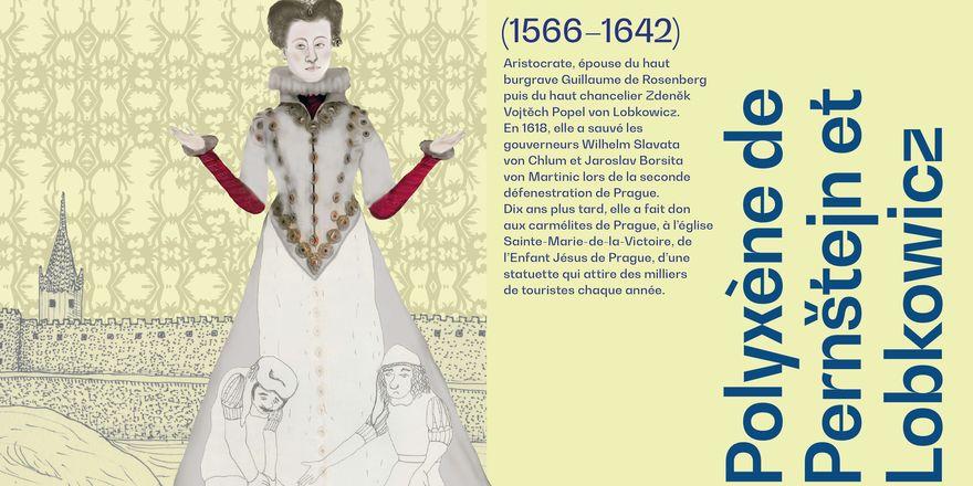 Polyxène de Pernštejn et Lobkowicz, source: Centres tchèques/FDULS